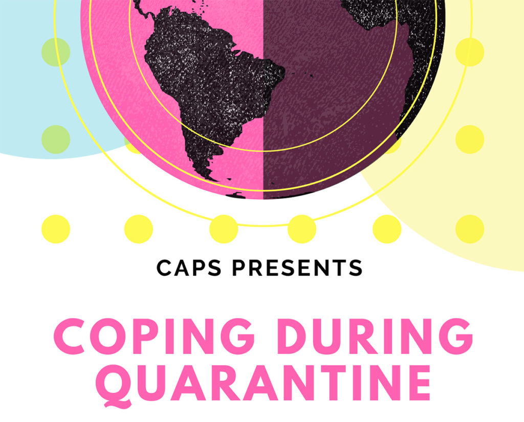 Coping during quarantine support group